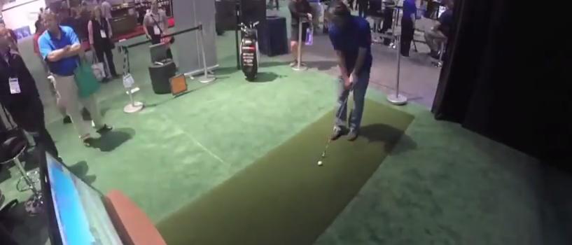 TrackMan Simulator Timelaps PGA Show 2015