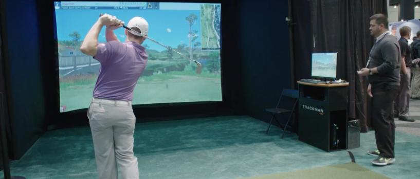 TrackMan Simulator – PGA Show 2016