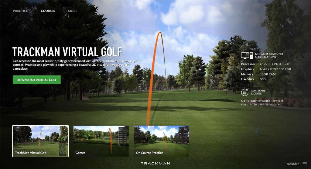 TrackMan-Golf-Simulator