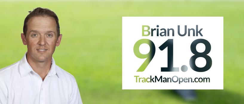 Brian Unk – TrackMan Open Winner September